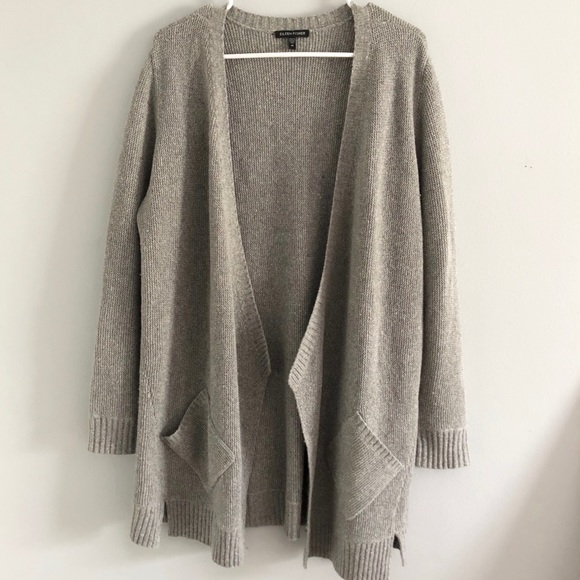 Sale Eileen Fisher Grey Cardigan Poshmark